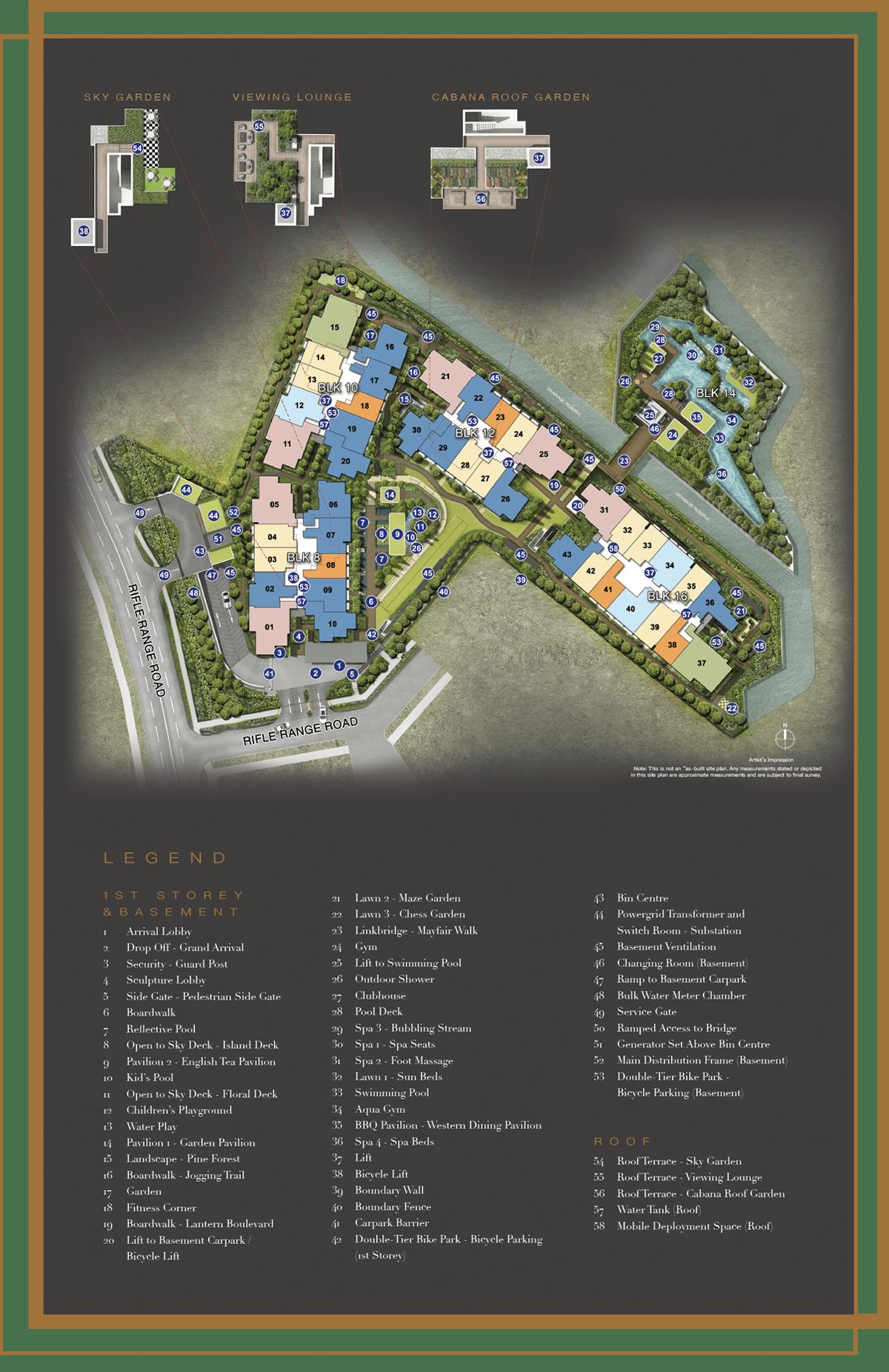 Mayfair Gardens Facilities